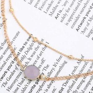 Gail Sky Two Layer Necklace